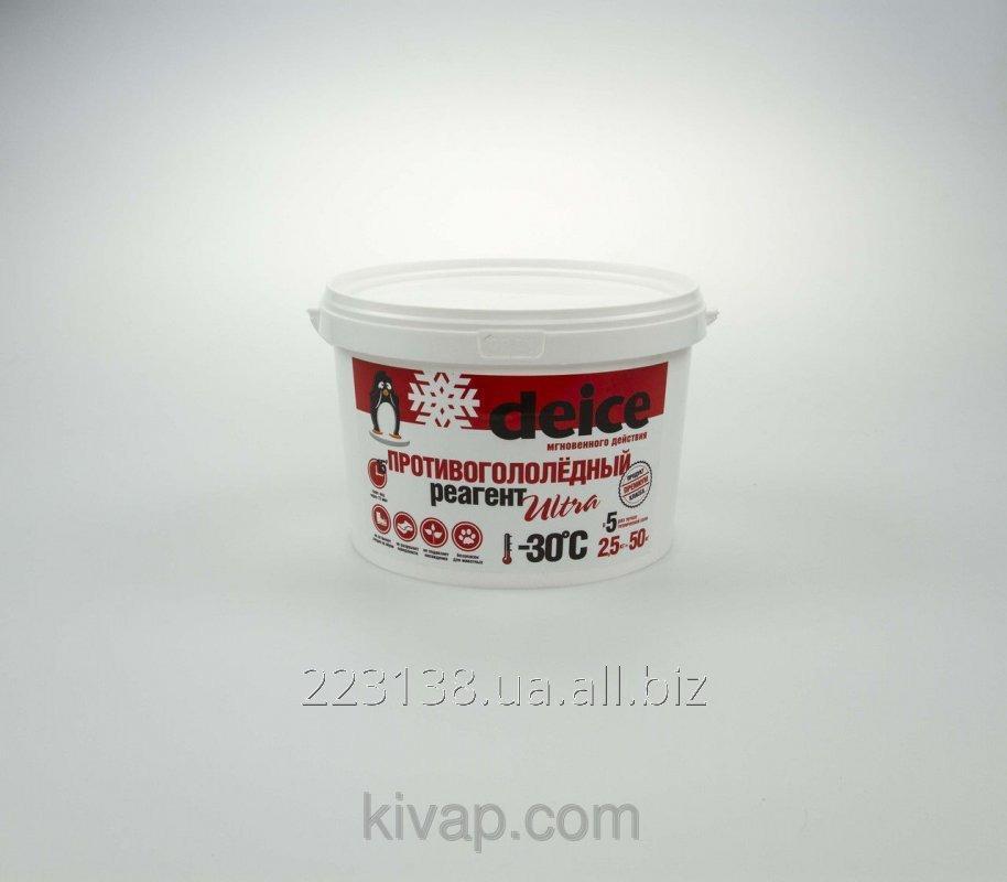 Противогололедный реагент DEICE ULTRA (2,5 кг)