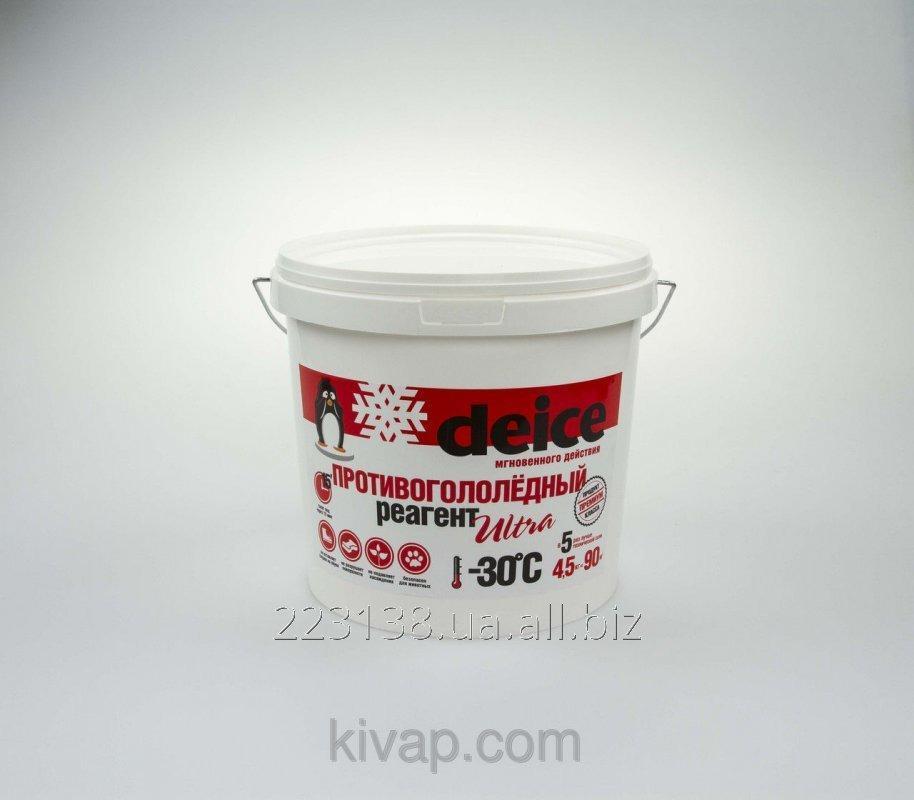 Средство для уборки льда DEICE ULTRA (4,5 кг)