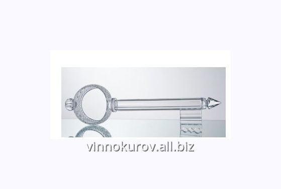 Купить Изделие декоративное Ключ хрусталь с лазерной гравировкой