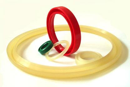 Кольца полиуретановые уплотнительные, опорные