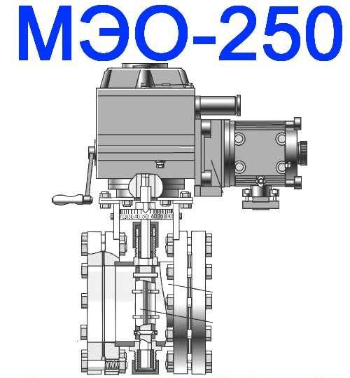 МЭО-250 Механизмы
