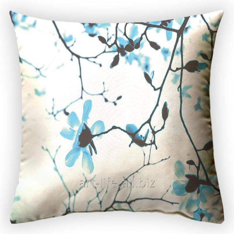 Дизайнерская декоративная подушка Утреннее цветение, арт. 2Pd-76-50х50_а