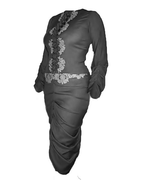 Купить Ансамбль блузон и юбка