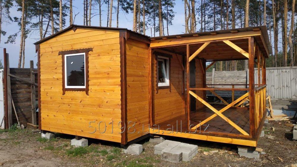 Купити Каркасний деревяний дачний будинок