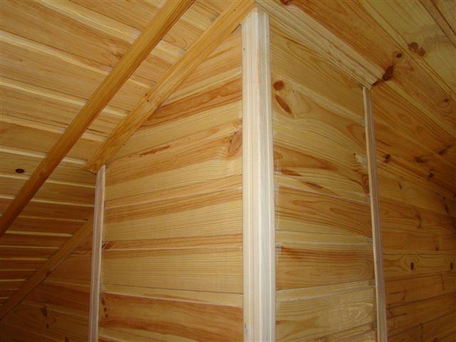 Lambrie pvc nicoll devis travaux renovation maison for Comment poser du lambris bois au mur