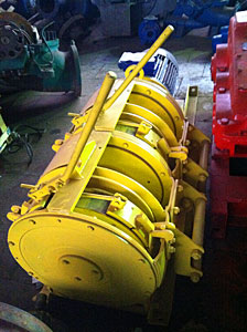 Buy Scraper winches of LS-10, LS-17, LS-30, LS-55 and LS-110