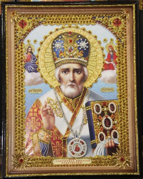 икона святого николая чудотворца: