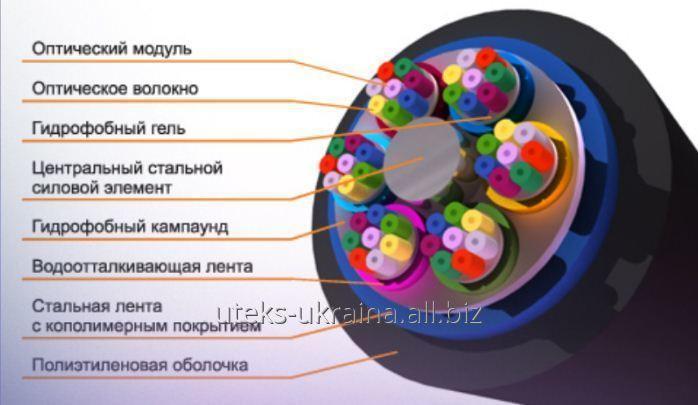 Кабель подвесной круглый А-D(ZN)2Y-8E-1,0