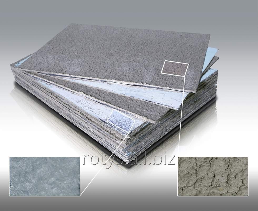 Buy Cardboard basalt heat-insulating in a facing from the TK-1 aluminum foil - TU At B.2.7-23.9-00292818-001:2012
