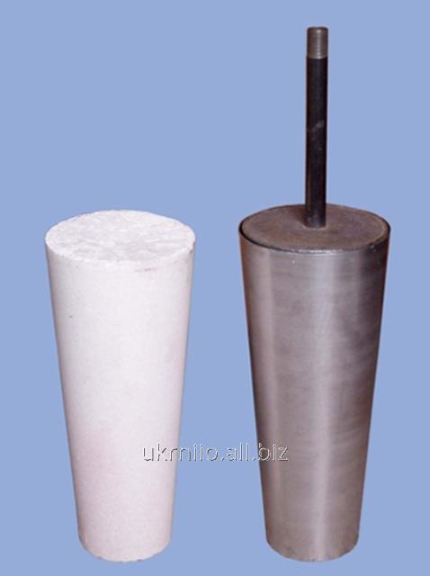 Пробки продувочные и установочные блоки для обработки металла в сталеразливочном ковше