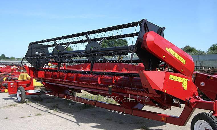 Flex-Header für die Ernte Sojabohnen auf Harvester Mega, Tukano