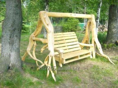 Buy Garden swing from the massif