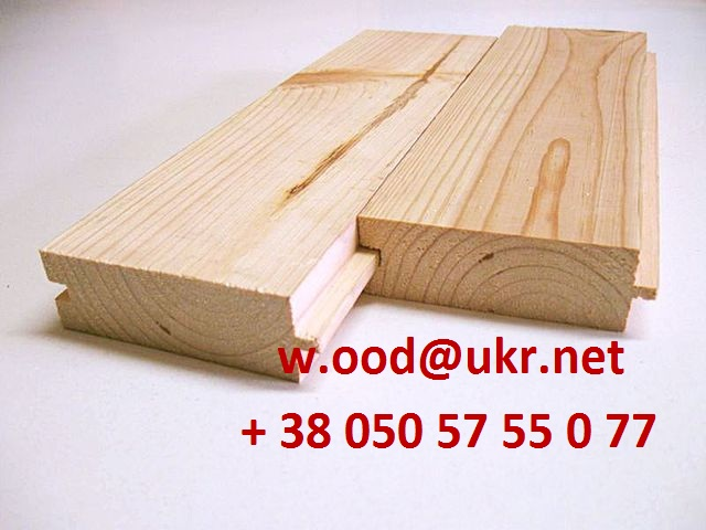Buy Board floor / floorboard (pine) of 35 mm x 130 mm x 4500 mm