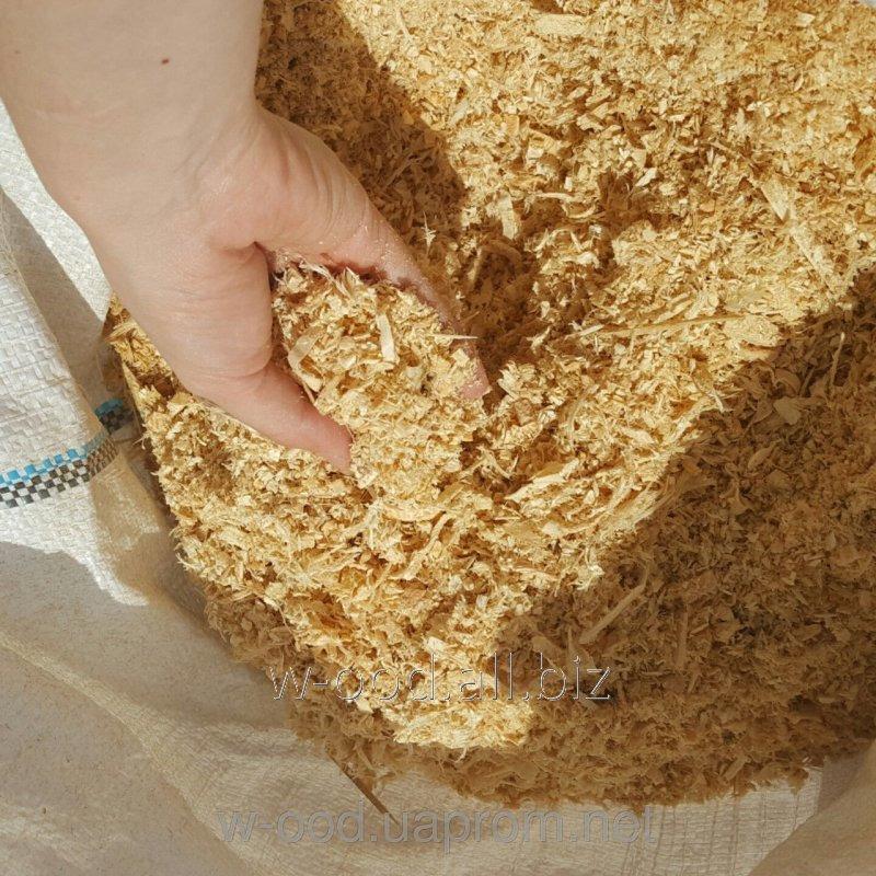 Купить Древесные опилки и стружки (тырса) ясеня в мешках по 2 кг