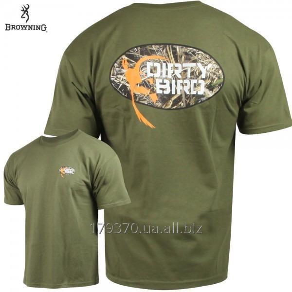 Футболка Browning Dirty Bird Oval Camo T-Shirt - Military
