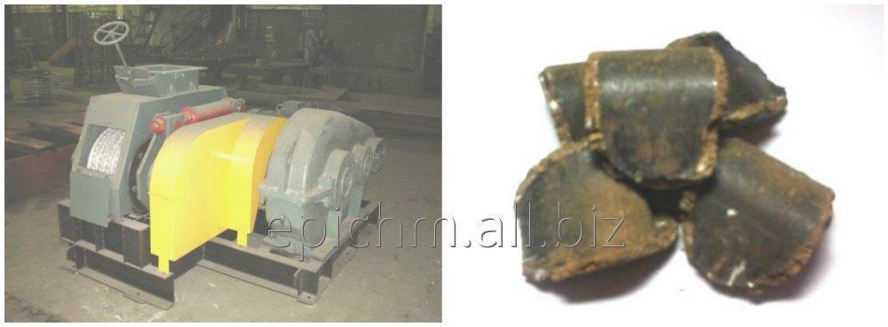 Прессовое оборудование для производства угольных брикетов