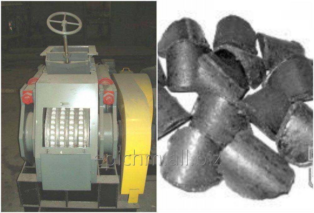 Прессовое оборудование для производства брикетов из коксовой мелочи