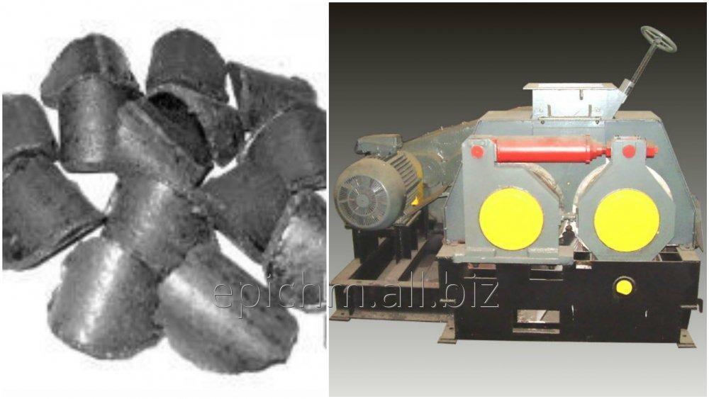 Прессовое оборудование для производства брикетов из коксовой мелочи с антрацитом