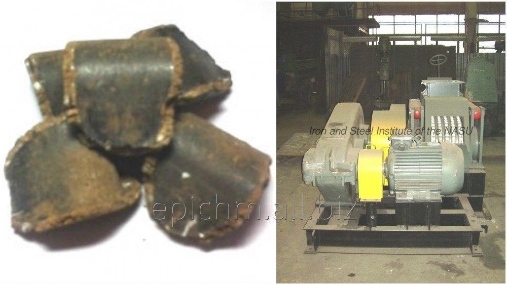 Прессовое оборудование для производства брикетов из лигнина