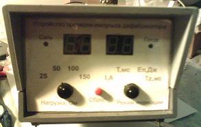 Устройство проверки параметров дефибрилляторов