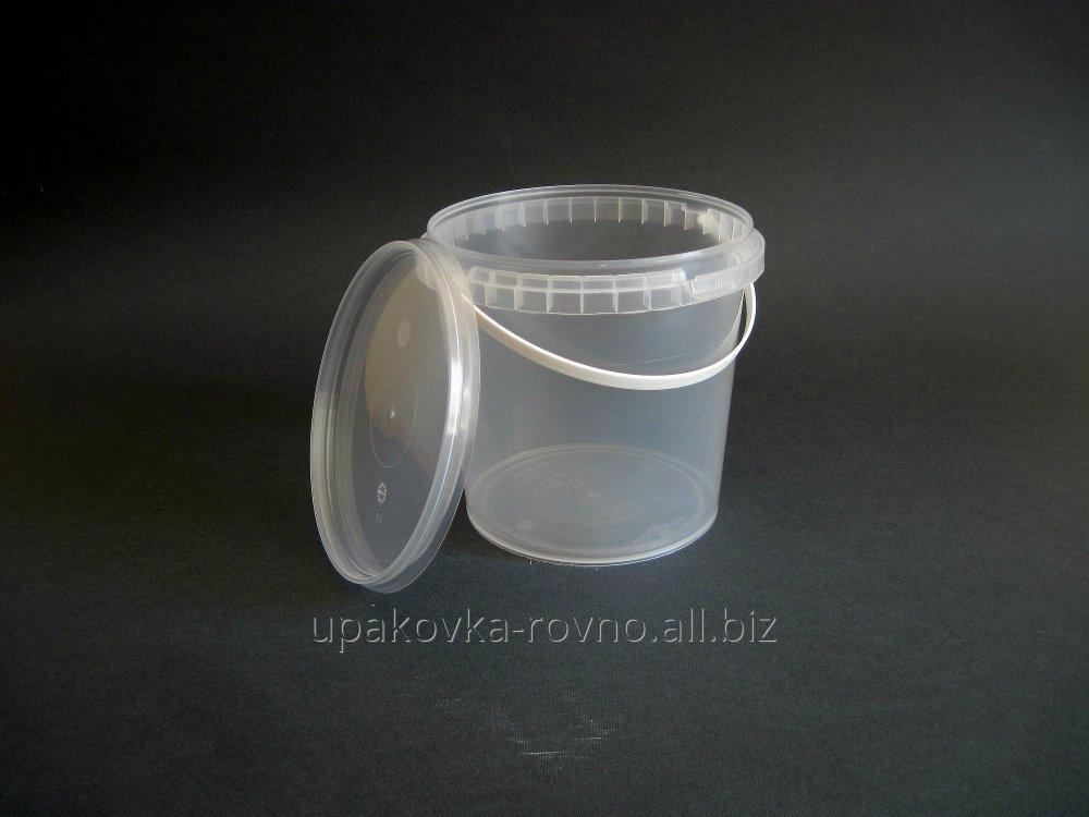 Buy Bucket plastic food 1 liter