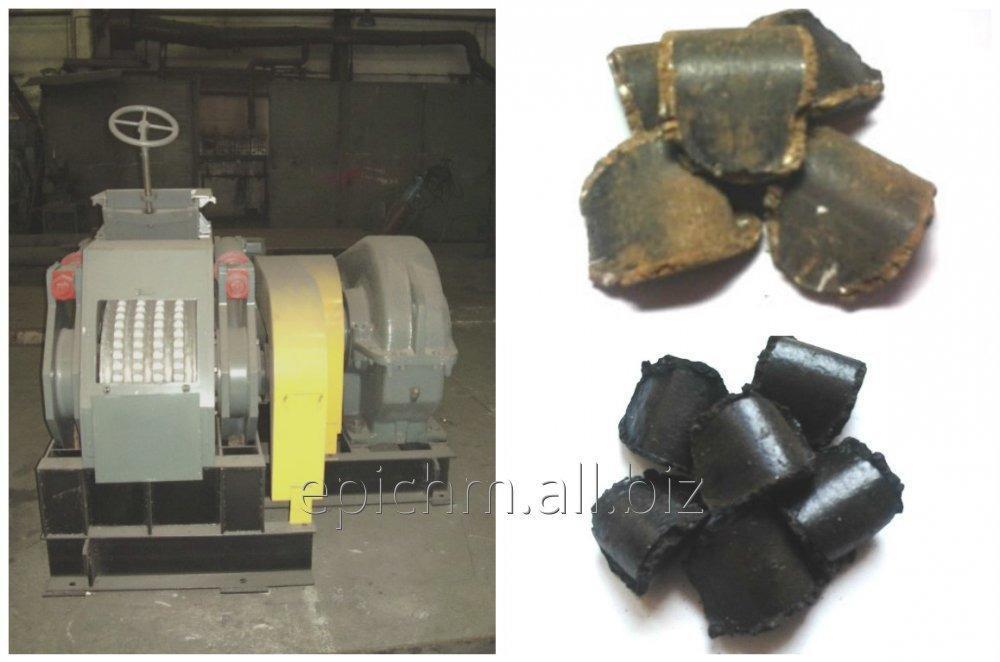 Прессовое оборудование для производства горючих древесноугольных брикетов