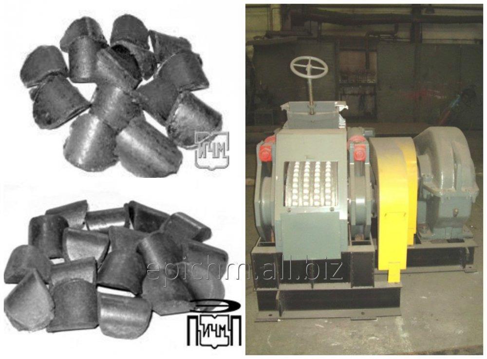 Прессовое оборудование для производства брикетов из кокса