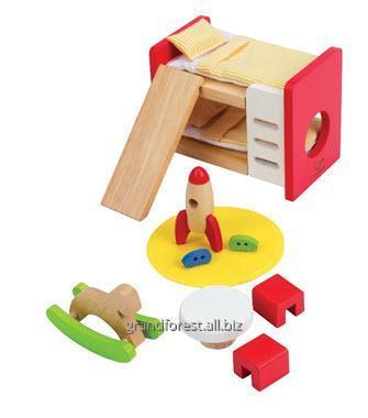 Мини–мебель 12, детская деревянная мебель для кукол