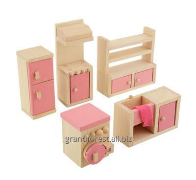 Мини–мебель 15, набор детской игрушечной мебели