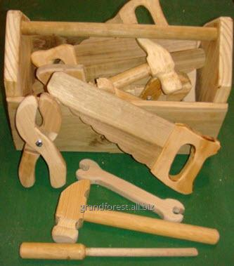 Набор строителя 6, детские развивающие игрушки из дерева
