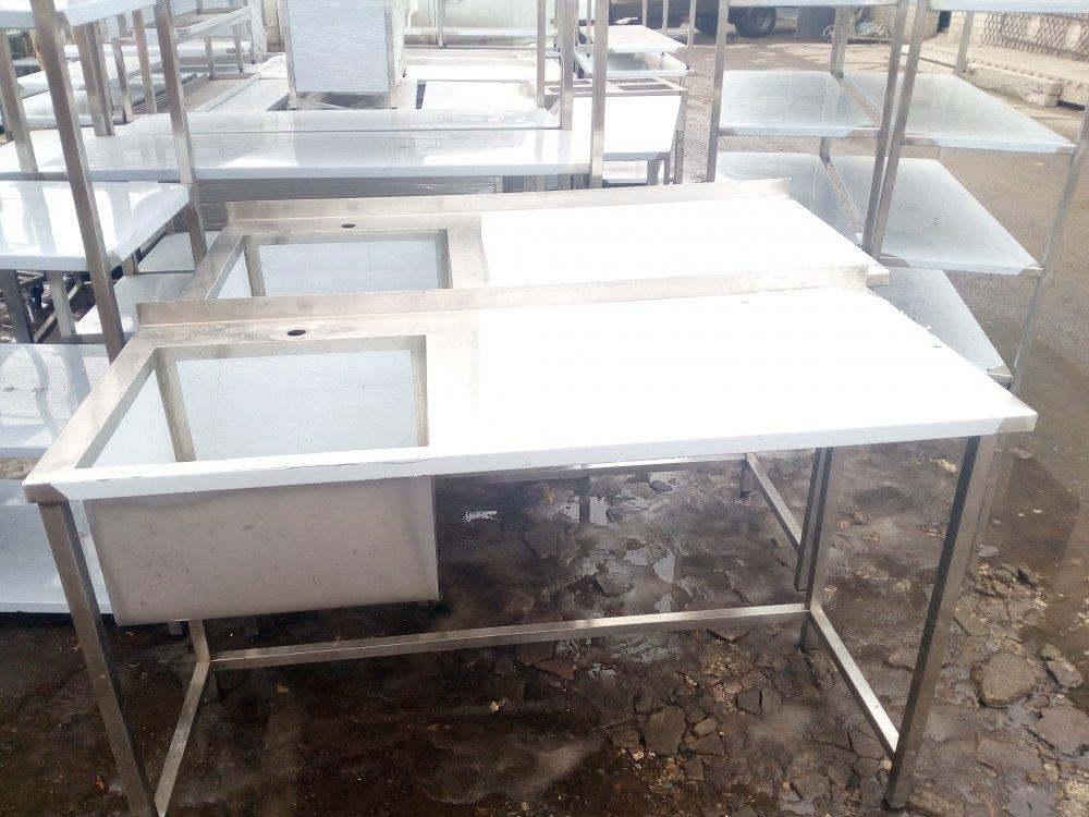 Table Moika 2kh section 1500х600х850 bowl 500х450х300