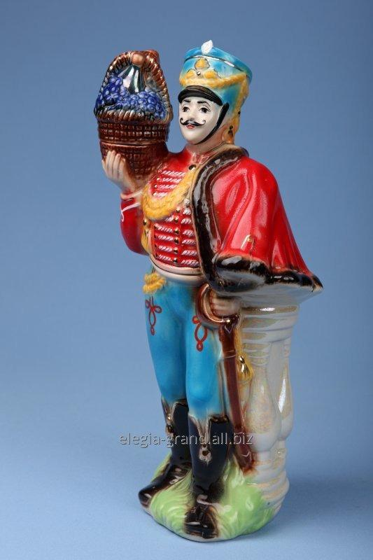 "Exclusive ceramic bottle ""Hussar"