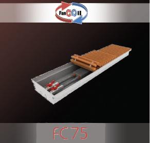 Купить Внутрипольный конвектор FanCOil FC75 mini