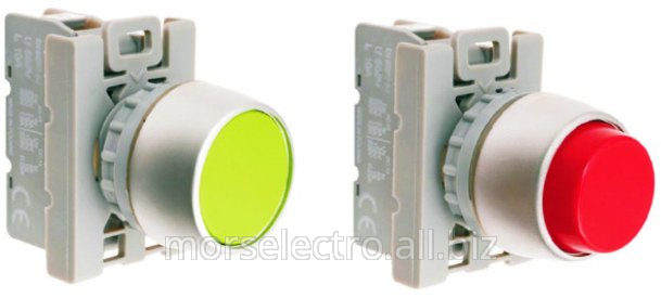 The push buttons with self-return. Products of SPAMEL plant, Poland. The best prices
