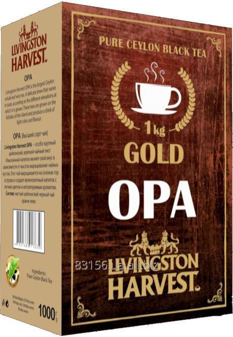 Чай Цейлонский черный OPA крупнолистовой GOLD 1кг