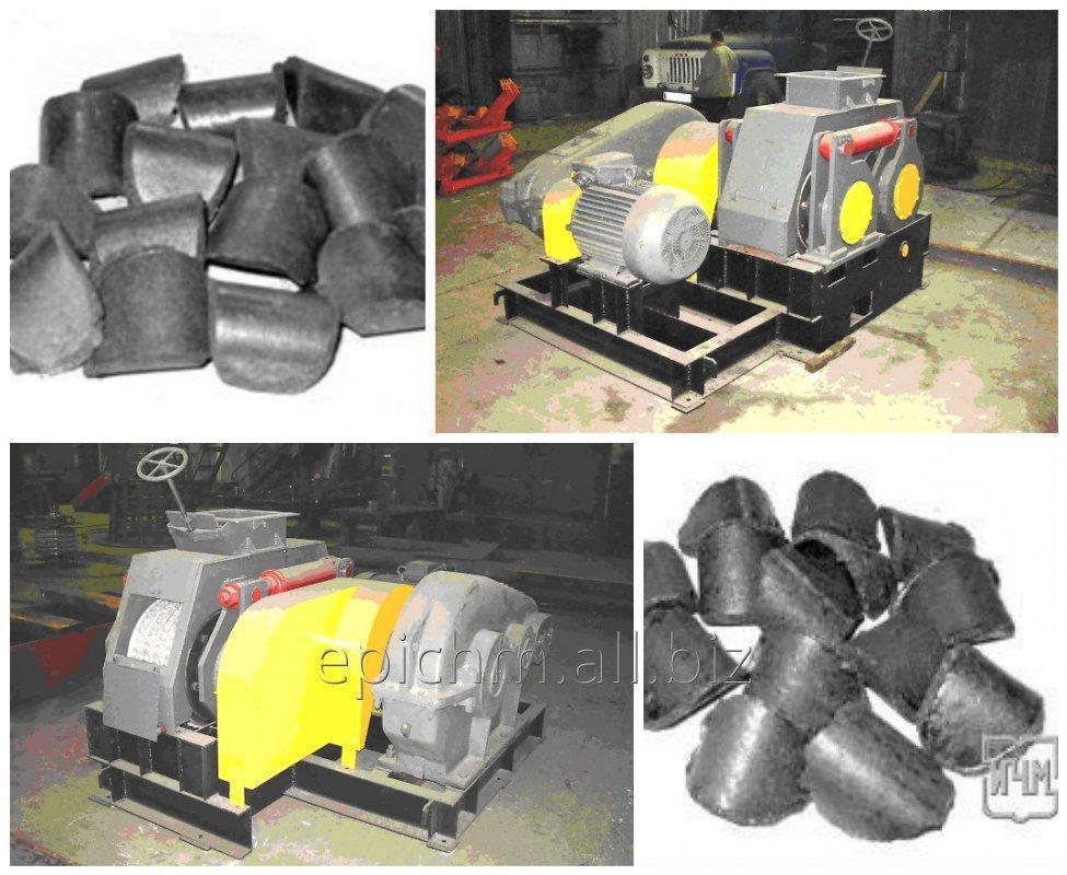 Прессовое оборудование для производства топливных брикетов