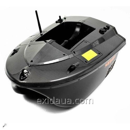 Радиоуправляемый катер-приманка Carpboat Skarp Carbon 2,4Ghz