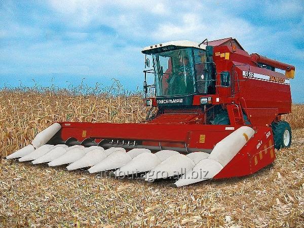 Жатка для уборки кукурузы КОК 8 рядков на комбайны Case, John Deere