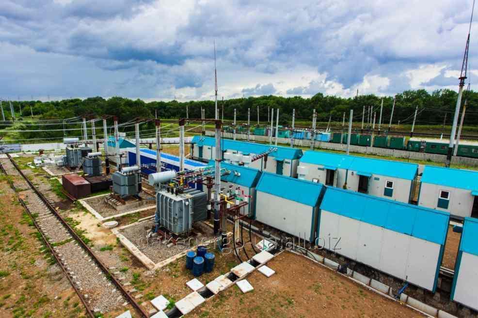 Подстанция комплектная тяговая постоянного тока 3,3 кВ