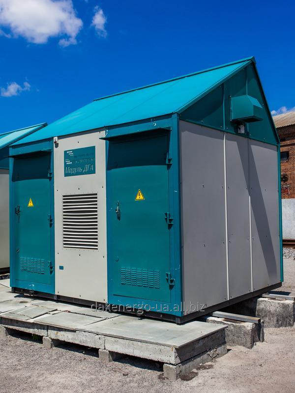 Модуль дизель-генераторного агрегата ТУ У 31.2-33165522-011 :2010 с блоком РУ