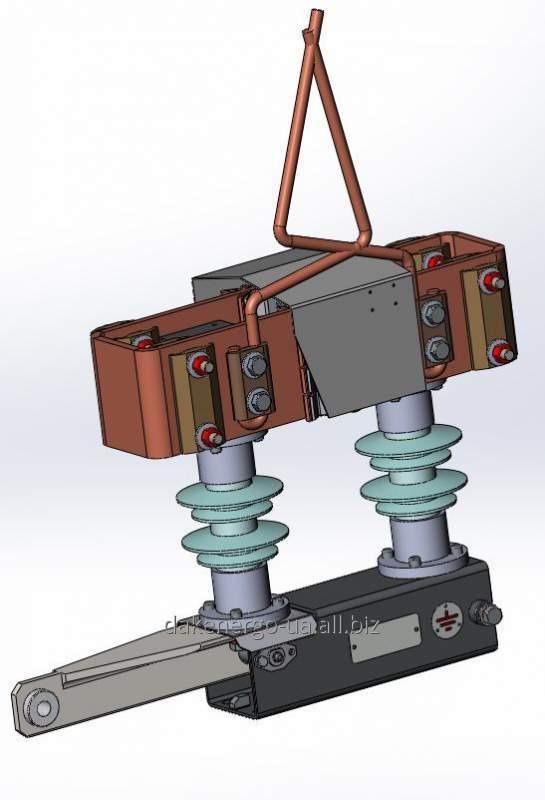 Разъединитель контактной сети типа РКС-3,3.