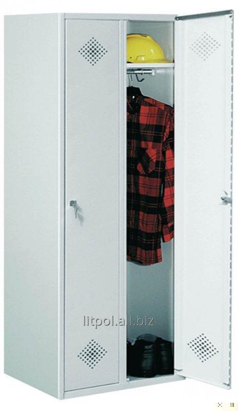 Гардеробный металлический шкаф Sum 420 R - разборная конструкция