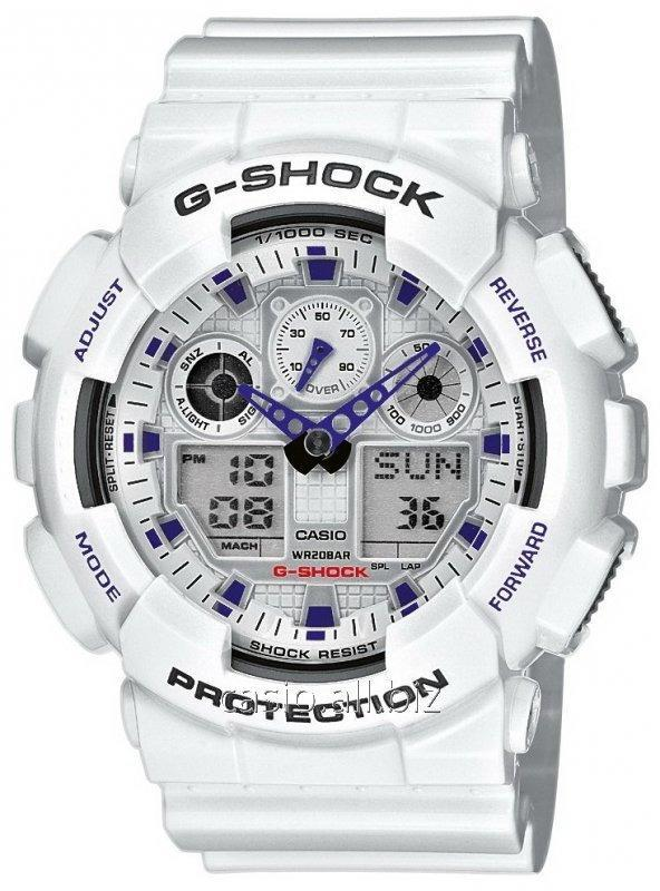 Часы GA-100A-7AER, Casio G-Shock