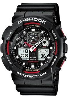 Часы GA-100-1A4ER, Casio G-Shock