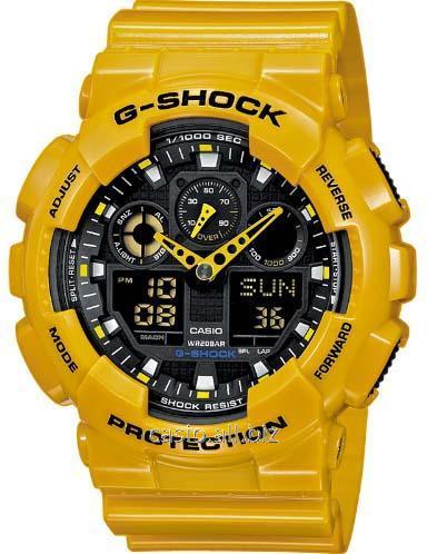 Часы GA-100A-9AER, Casio G-Shock