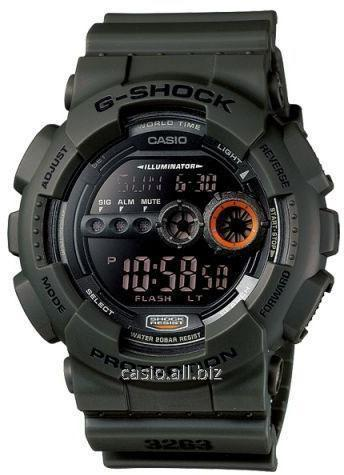 Часы GD-100MS-3ER, Casio G-Shock