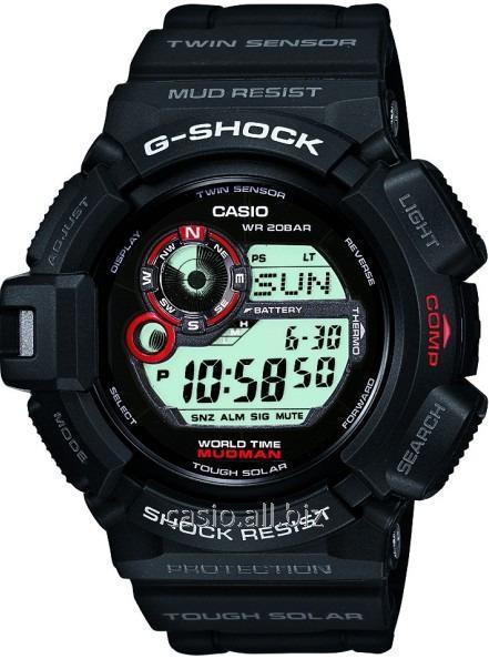 Часы G-9300-1ER, Casio G-Shock