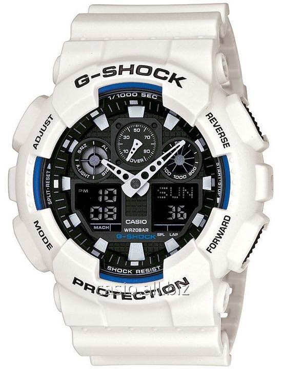 Часы GA-100B-7AER, Casio G-Shock