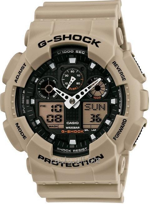 Часы GA-100SD-8AER, Casio G-Shock