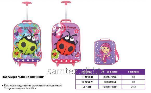 Детский чемодан на колесиках серии Божья коровка VGR купить в Киеве 10977236d24